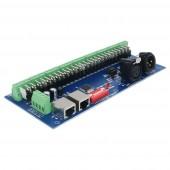 27CH Easy DMX512 Decoder 27 Channel DMX Controller WS-DMX-27CH-RJ45-LED