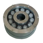 12W High Power Submersible LED Fountain Light Ring W/R/G/B/RGB Optional