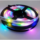 WS2812B LED Pixel Strip 60LEDs/M 2812b IC 5M 300LED 5V RGB Light