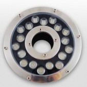 18W Underwater LED Fountain Light Ring W/R/G/B/RGB Optional
