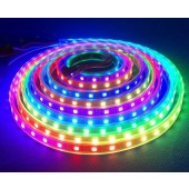 DC 5V RGB SK6812 LED Pixel Strip Addressable 5M 300LEDs 60LED/M Digital Light