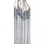 50CM 10 Tubes 5050 RGB LED Meteor Light Rain Snowfall Ourdoor Tree Lighting