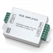12A RGB LED Amplifier Aluminum Case for 12V 24V 3528 5050 RGB Strip