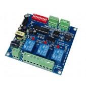 DMX512 Relay Decoder Controller 110v-220V DMX-RELAY-3CH-220-BAN