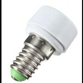 E14 To MR16 Base PBT Socket Holder Bulb Lamp Light Adapter Converter 10pcs