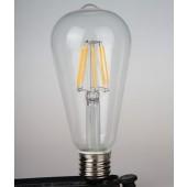 E27 4W 6W 8W Classical Vintage Filament Edison Led Bulb 110V 220V Warm White Lamp
