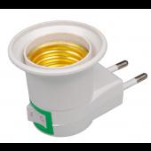 E27 Lamp Bulb Socket Adapter Converte 250V 6A 10pcs