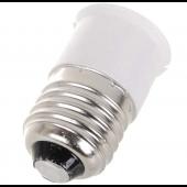 E27 To B22 Base Socket LED Halogen CFL Light Lamp Bulb Adapter Converter 10pcs