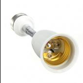E27 To E27 Extender 15CM Flexible Light Bulb Lamp Base Holder Screw Socket 5pcs