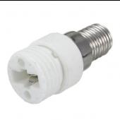 Fireproof E14 to G9 Lamp Holder Light Bulb Converter Socket 5pcs