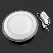 Glass LED Downlight Recessed Panel Light Spot Ceiling Down Lamp