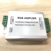 Common Cathode RGB Amplifier Signal Booster DC 12V 24A