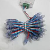 50Pcs 12mm RGB LED Module Light For DIY Display Advertising Board 5V