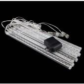 30cm 8pcs Tube LED Meteor Rain Light Snowfall Tube Outdoor Tree Lighting