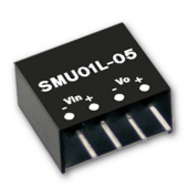 Mean Well SMU01 1W DC-DC Unregulated Single Output Converter Power Supply