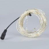 2Pcs 10M 100 LEDs DC 12V Fairy Light Copper Wire LED String Light