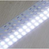 SMD7020 Cold White 72LEDs/M Non-Waterproof 12V Hard LED Strip Light 24pcs