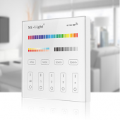 MiLight T4 RGB+CCT Wireless LED Controller 4-Zone Smart Touch Panel Remote