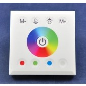 Touch Panel Full Color Wall Dimmer RGBW RGB 12V 24V Controller
