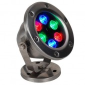 Waterproof IP68 AC12V 24V 6W LED Underwater Light Lamp