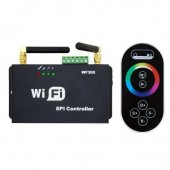 WF300 Android iOS SPI WiFi Controller for Addressable Pixel RGB Strip