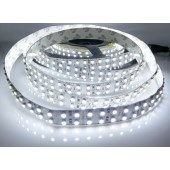 12V SMD 3528 5M 1200 LEDs White Strip Light Non Waterproof