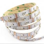 WS2813 DC 5V LED RGB Pixel Strip Dual-signal Wires 5M 150LEDs