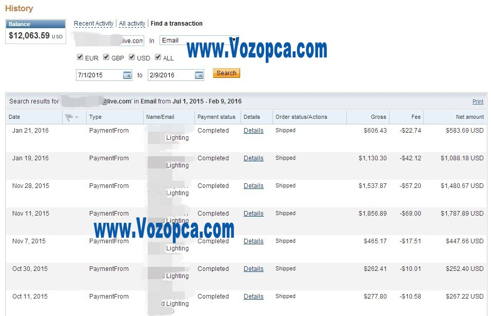 vozopca_paypal_payments_royal_customers_repeat_purchase_online_led_products_factory_price_suppliers