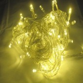 2pcs 10M 100 LEDs Warm White Christmas Wedding String LED Fairy Lights