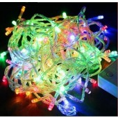 2Pcs 10M 100 LED Multi-color Fairy Lights Christmas Party String