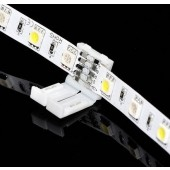 12mm 10mm 5 Pin Connector Adapter For RGBW 5050 SMD LED Strip 10Pcs