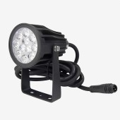 MiLight FUTC08 6W RGB+CCT Lamp Floodlight LED Garden Light 24V Waterproof 2.4G Remote App Voice Control