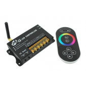 Leynew RF 2.4G Wireless Remote LED Controller RF201 Full-color