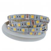 5050 SMD WW+CW LED Strip Color Temperature Adjustable 60LED/m CCT Light 5M