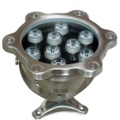 9W Underwater LED Light IP68 Waterproof 12V 24V Fountain Pool Lamp
