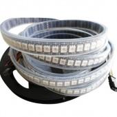 5V 144LEDs/m APA102 5050 RGB LED Pixel Strip Addressable Light 1M