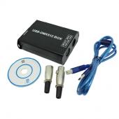 Leynew DMX Controller 5v USB DMX512 Led Control DMX600