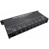 Signal Distributor Output 8channels DMX128 LED Controller