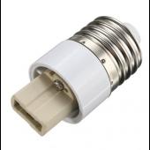 E27 To G9 Base Socket Adapter LED Halogen Light Lamp Bulb Converter 10pcs