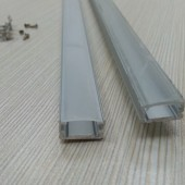 Micro Aluminum Channels Profile for 10mm 12mm LED Light Strip 24pcs