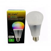Mi.Light FUT012 E27 9W RGB+CCT LED Bulb 2.4G Wireless Remote WiFi Compatible