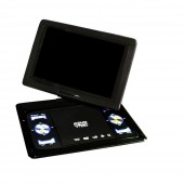 13.9 Inch Swivel DVD Player USB Portable TV Portatil WIth Battery