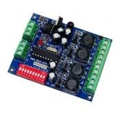 High-Power 4CH RGBW Controller 350ma DMX512 Decoder WS-DMX-HLB-4CH-350MA