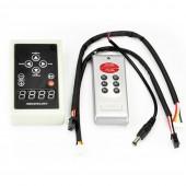 LPD6803 Pixels Controller Digital RGB RF Remote Control For LED Light Strip 12V