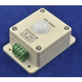 DC 12V 24V 8A Surface Wall Mount LED Motion Sensor On Off Controller