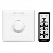 BC-320-6A Bincolor Led Controller Knob PWM Dimmer with Wireless Remote