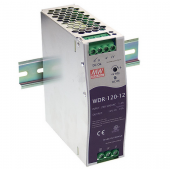 Mean Well WDR-120 120W Single Output Industrial DIN RAIL Power Supply