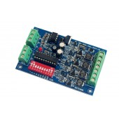 4CH 700ma DMX512 Decoder Controller DC 12V-36V WS-DMX-CHL-4CH-HV-700MA