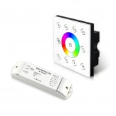 Bincolor Led P8X+R4-2.4G Wireless Multi-Zone RGBW Panel DMX512 4CH Controller