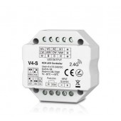 Skydance V4-S Led Controller 4CH*3A 12-24V Controller, Flush or Surface Mounting